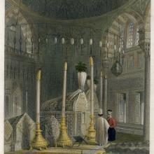 [15] Interior of the Mausoleum of Sultan Solyman