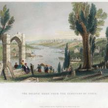 [06] The Golden Horn, from the Cemetery of Eyoub