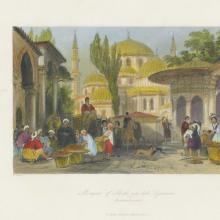 Vol I - Pl 47 Mosque of Shah-za-deh Djamesi, Constaninople