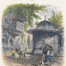 Turkish Fountain - Constantinople