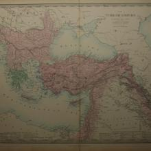1857 - S.D.U.K. - Turkish Empire in Europe & Asia