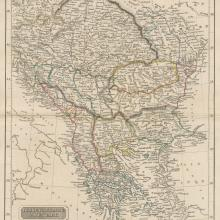 1830 - John Arrowsmith - Turkey in Europe Hungary