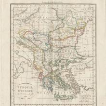 1813 - Vaugondy Delamarche - Turkey in Europe