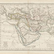 1812 - Vaugondy Delamarche - Middle East