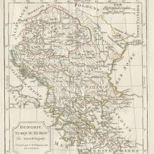 1811 - Vaugondy Delamarche - Turkey in Europe & Hungary