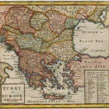 1701 - Hermann Moll - Turkey in Europe