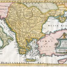 1762 - Jeffreys - Hungary with Turky in Europe - London