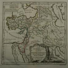 1762 - Vaugondy - Middle East