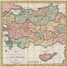 1793 - Trusler - Map of Asia Minor - Neele, Britain